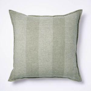 NWT Studio McGee Oversized Linen Striped Pillow